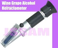 Wholesale high quality handheld refractometer FOR Wine alcohol withATC HUCA