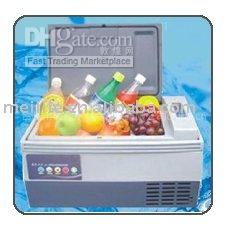 used refrigerators - 20L Car Fridge Refrigerator Freezer Icebox Cooling System Nice for Summer outside use easy taking