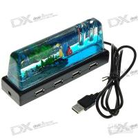 Wholesale Unique Mini Underwater World USB Port Hub with Pen Holder y6r4