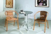 Wholesale Rattan Furniture coffee table and chair
