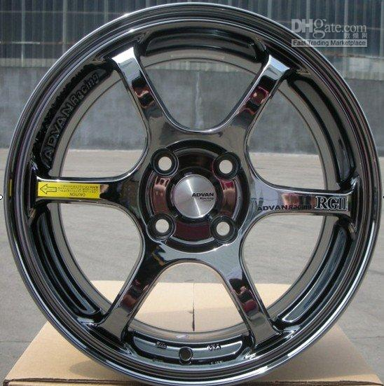 Wholesale car alloy rim alloy wheel aluminium rim of universial after market