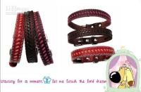 Wholesale Sample Item Handmade nature leather personalized pet collars dog collars pet products dog products