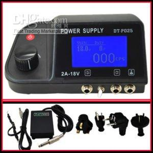 Wholesale 2010 new arrival hot sell DIGITAL TATTOO HINE POWER SUPPLY KIT