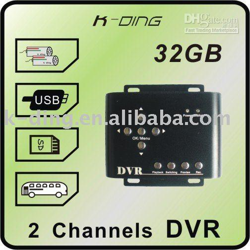 Wholesale 2ch Mini DVR with high definition images and support GB sd cardfrom nikki_sunshine