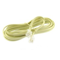 Wholesale 7 Ivory Modular Telephone Line Cable Cord hot selling