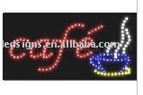 Wholesale LED cafe lights shining sign light sign light for Christmas LED sign