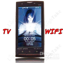 Wholesale SCI Phone i68 G inch touch screen mobile phone WiFi and JAVA function