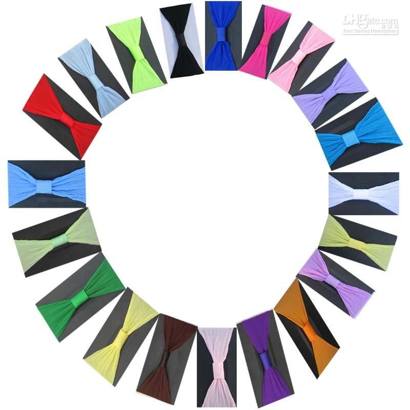 Wholesale colors pantyhose nylon headband can mix order