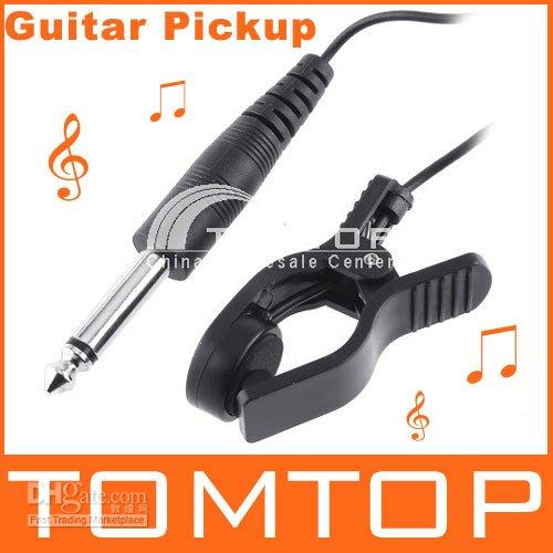 Wholesale Hot sale Universal General Guitar Acoustic Clip line Pickup Pick up guitar tuner I9
