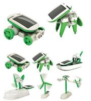 Wholesale Christmas Gift Pieces New in Educational Solar Kit Robotikits Toy