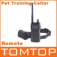 Wholesale 100 Levels M Remote control Dog Pet Training Collar shock dog collars with LCD Display H4383