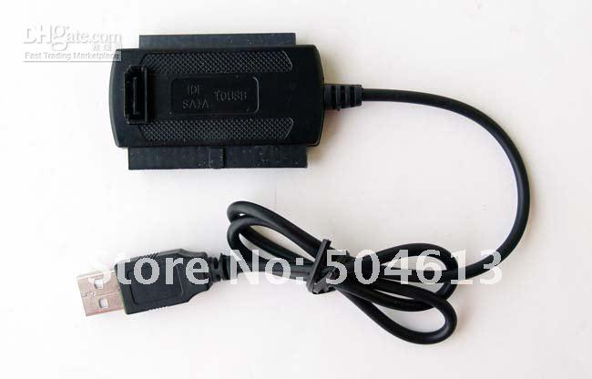 Wholesale New USB to IDE SATA Hard Drive Converter Cable