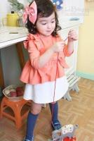 Wholesale Name brand baby and Kids clothing Overrun Dress baby and kids clohitng
