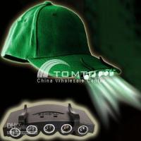 Wholesale Clip On LED Fishing Camping Head Light HeadLamp headlight Cap H1275B