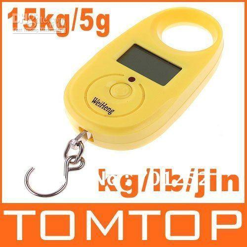 Digital other  retail 25kgx5g,25kg 5g,25kg-5g Mini Digital Hanging Luggage Fishing Weighing Scale,H4680