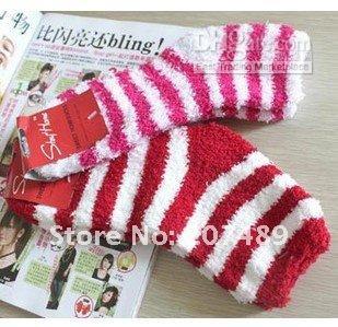 Wholesale WOMENS Girl Winter Soft WARM Fuzzy Socks Home Towel Thick Towel Socks floor carpet socks