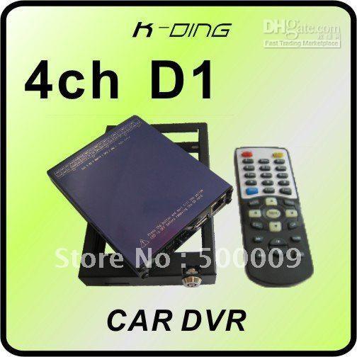 Wholesale 4 channel CAR DVR with GPS D1 RESOLUTION bus dvr