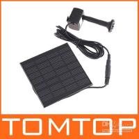Wholesale Hot Sell Pool Water Pump Garden Plants Watering Kit Solar Power Fountain Soar Pump Water Pump H4009