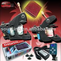 Wholesale Top Machine Digital Power Supply Kit Great Tattoo Shops Tattoo Kit Great New Tattoo Gun Kit