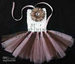 Wholesale Cheap custom baby tutus with dasiy dress crochet bodies new style about colors