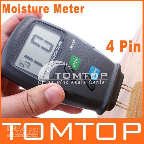 applied digital - Digital Moisture Meter Wood Firewood Damp Tester Pin LCD Screen Professional Applied Measure H1290