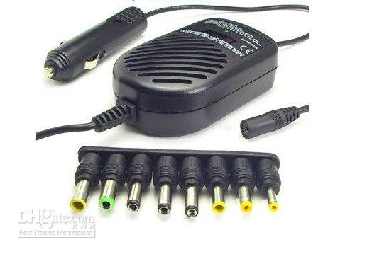 Cheap Wholesale - free shipping 1 piece Universal Car Charger Adapter for Laptop