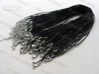 Wholesale Black Braided Chinese Silk Necklace Chain Cord mm