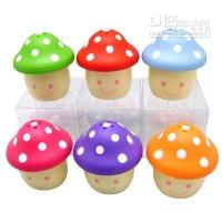 Wholesale Toothpick Holder Mushroom toothpick barrel Cheap lovely toothpick tube