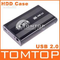 3.5'' other 480Mbps 1pcs 3.5 inch USB 2.0 HDD SATA Hard Disk Drive Enclosure Case, Free Shipping C838B