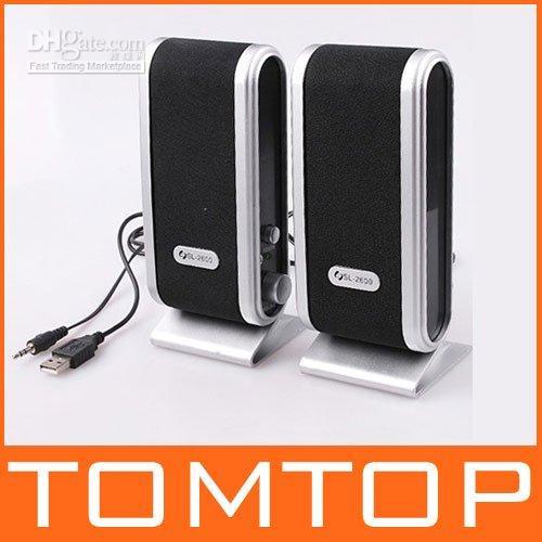 Wholesale 5pcs USB Portable Multimedia Speaker For Computer laptop
