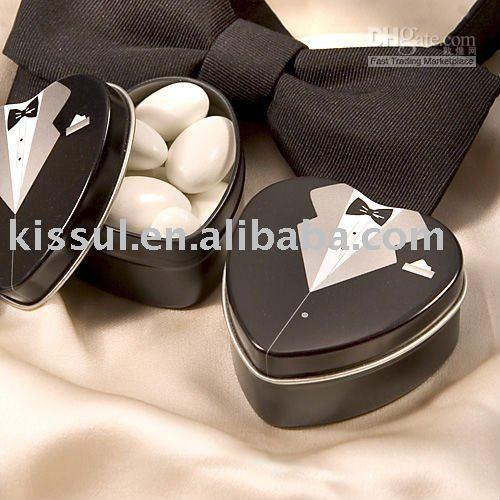 Cheap Wedding favors(TX2210-2) 16PCS LOT Factory directly sale metal tin box Dressed to the Nines - Tuxedo Mint Tin