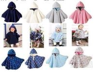 Wholesale Baby outerwear coats girls cape sweaters outfits baby dress smock baby cloak baby clothing