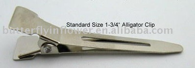 Wholesale alligator clips without teeth clamps in stock bag reasonable price best service