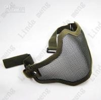 Wholesale Strike Steel Half Face Mask Green