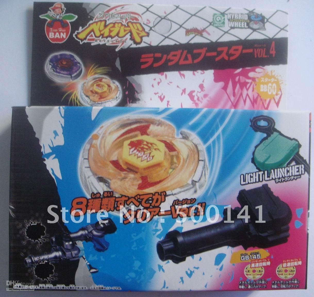 Wholesale 84pcs Beyblade Beyblade spin top toy beyblade metal fusion BB28A launcher handgrip