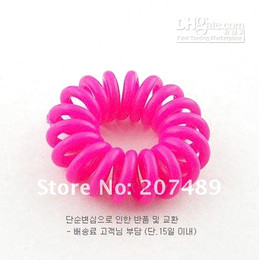 900pcs New Colorful Korea Rope Elastic Girl's Rubber Hair Ties Bands Headband Phone Strap Hair Band