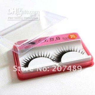 Wholesale New Natural Long Thick False Eyelashes Makeup hand made real mink hair false eyelashes