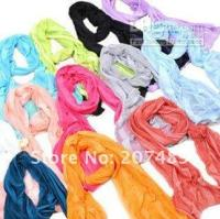 Wholesale 66pc Fashion Women Thin Soft Candy Shawl Scarf Neck Wrap multi colors pick Long Girl Shawl Wrap