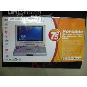 Wholesale discount Portable DVD Player with Swivel Screen inch TFT LCD TV Player C