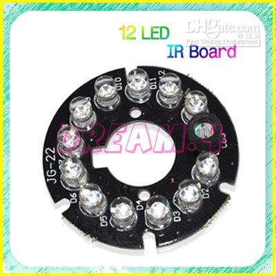 Wholesale NeW LED Security Camera Infrared Illuminator Board Plate SX0099