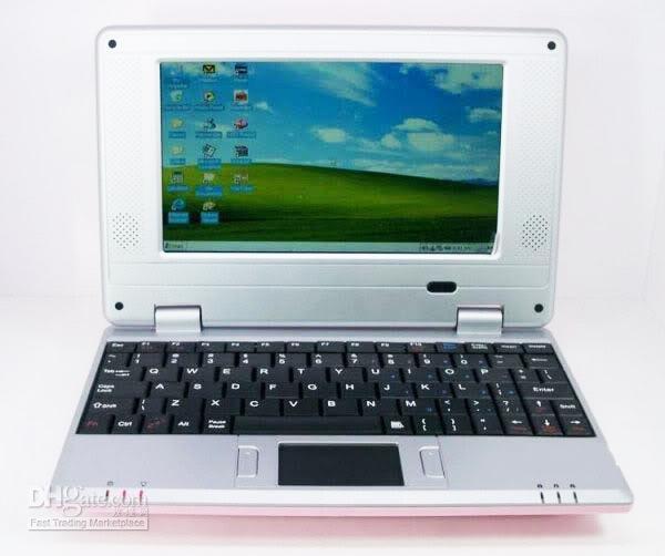 Wholesale HOT SALE inch windows laptop umpc