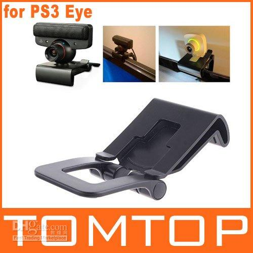 Wholesale TV Mounting Clip Holder Stand for PS3 Move Xbox Eye Camera F1323