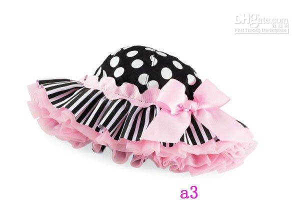Wholesale 2016 Summer Baby Girls Caps infant kid s Bowknot Summer Sun Hats