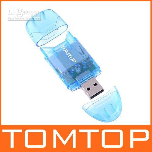 Wholesale Promotional Gift Mini Real USB M s SD MMC RS MMC Card Reader G
