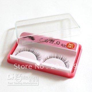 Daily Life amazing false eyelashes - Natural Amazing Long Thick False Eyelashes Makeup hand made real mink hair false eyelashes