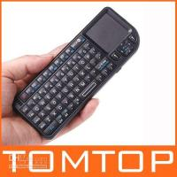 Wholesale 2 G GHZ Rii Mini Wireless Keyboard with Touchpad and Laser For HTPC PS3 PDA PC C709B