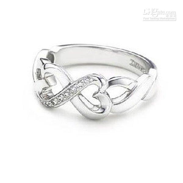 Band Rings 925 silver rings - silver ring fashion ring hot sale silver ring LR45
