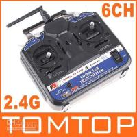 Wholesale 2 G FS CT6B Radio Model CH RC Transmitter amp Receiver Heli Airplane Glid