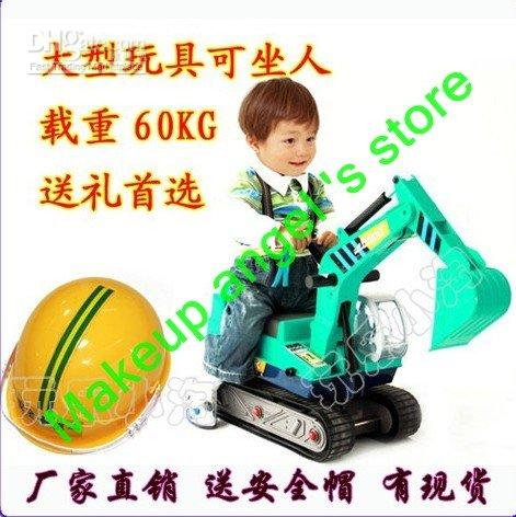 Wholesale EU US Hot Sale Simulation children s Ride On Toy excavator Children s Toys free shiping