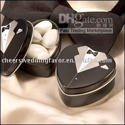Tuxedo Mint Tin favor box  Free shipping 25pcs LOT Dressed to the Nines - Tuxedo Mint Tin